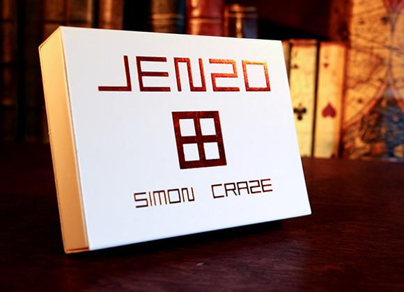 JENZO Black by Simon Craze (GV $21) - Sold Out!