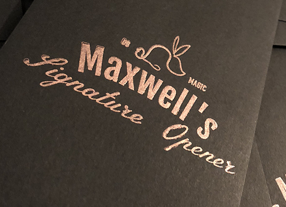 Maxwell's Signature Opener (Preowned)