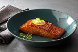 Gin-Cured Roast Salmon
