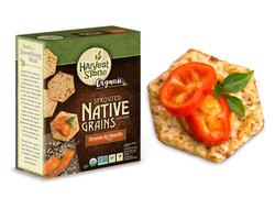 Native Grains Crackers by Harvet Stone