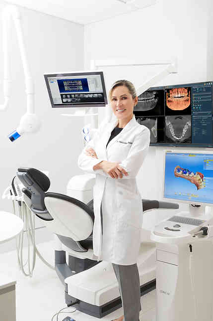 Environmental portrait photography for Henry Schein Dental