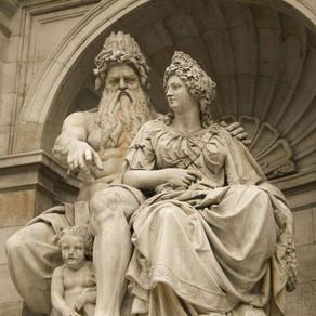 Poselství - Zeus a Héra