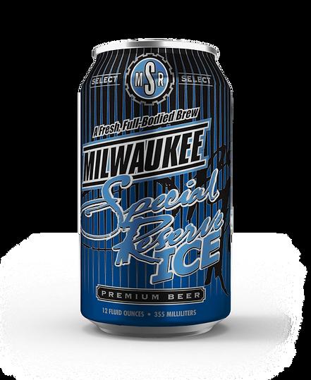 Milwaukee Special Reserve Ice Beer 12oz