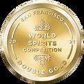 SFWSC 2021 Double Gold Award - Doc Whiskey