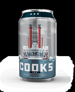 Cook's Beer Ice 12oz