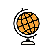 Globe representing our Alcoholic beverage Import and Export Service