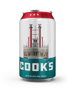 Cook's Lager 12oz