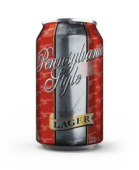Pennsylvania Style Beer 12oz Lager Can