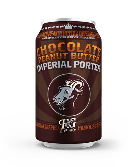 Horny Goat Brewing Company - Chocolate Peanut Butter Imperial Porter