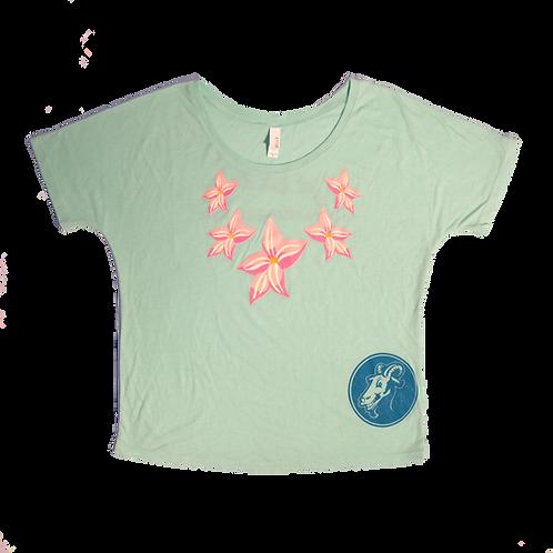 Get Lei'd Vintage Green Women's Shirt