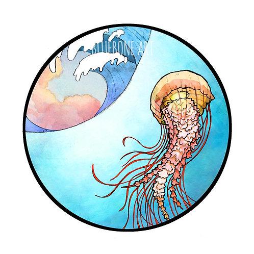 Nettle Jellyfish Print