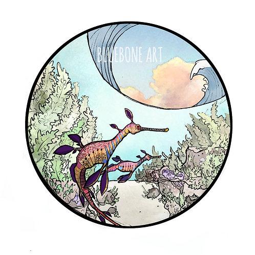Sea Dragon Print