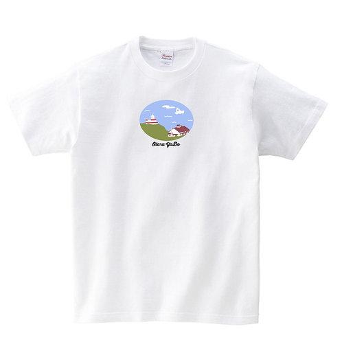 祝津の風景ロゴTシャツ