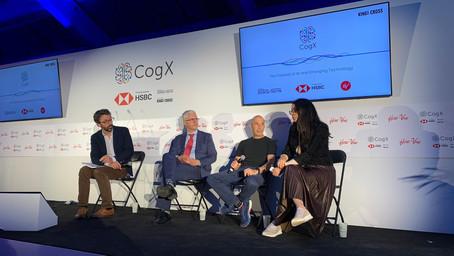 EOF CEO Amel Karboul speaks at CogX 2019