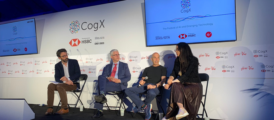 EOF CEO Amel Karboul speaks at CogX 2019
