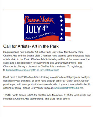 Art in the Park - July 4, 2021