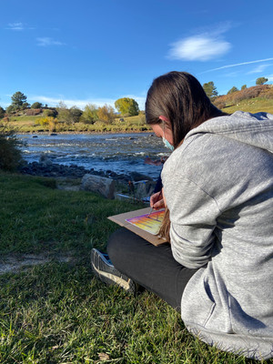 Chaffee Arts Hosts Plein Air Class for ElevateHER