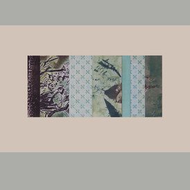 """""""Reflections 12"""" Print Collage 15""""H x 22""""W"""