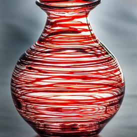 Vase worked on Glass Lathe