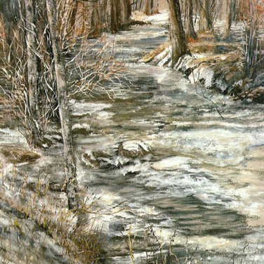 Cottonwood Creek, oil