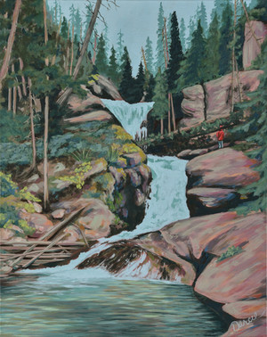 Darcie Smith at AVDI Gallery in July