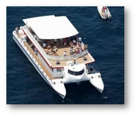 catering vip en Ibiza alquiler barco