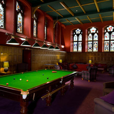 Snooker Table in The Club Lounge