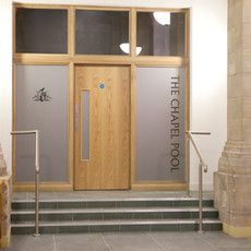 Chapel Pool Entrance Door