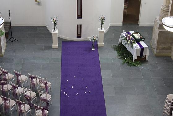 The Highland Club wedding in Abbey Churc
