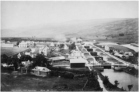 Fort Augustus Locks 1832