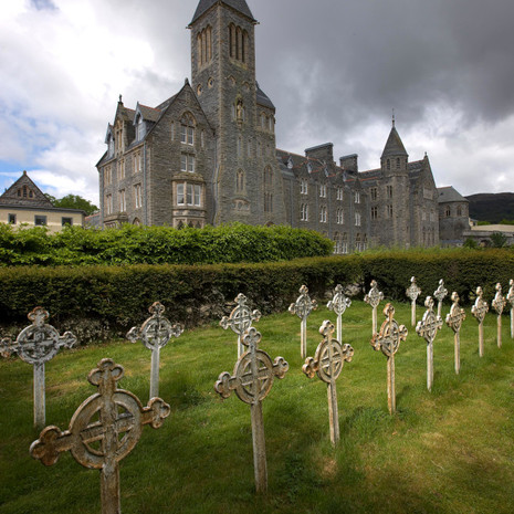 Monks Graveyard at The Highland Club