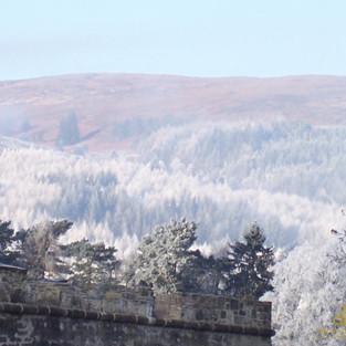 Snowy View across the Great Glen