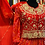 Thumbnail: Pure gorgette Anarkali with jacket full of gotta patti hand work