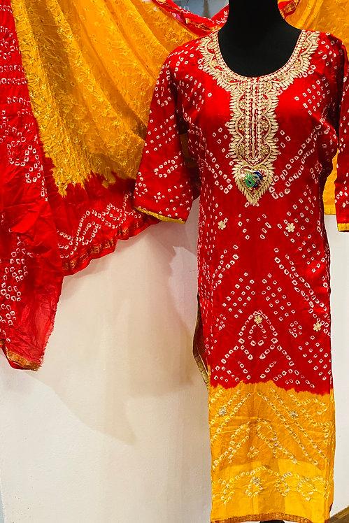 Badhani suit