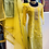 Thumbnail: Yellow gotta patti suit comes with Mehndi sharara