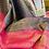 Thumbnail: Gray and hot pink banarsi silk