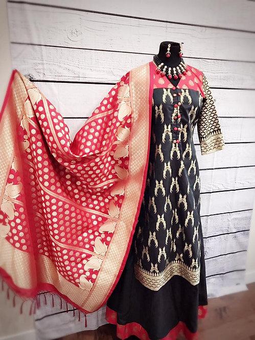 Designer Banarasi suit