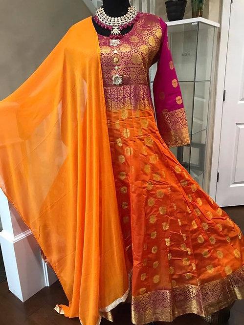 Banarasi Anarkali Suit