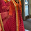 Thumbnail: Orange and hot pink badhani Anarkali suit