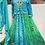 Thumbnail: Pure gorgette Anarkali with gotta patti handwork jacket