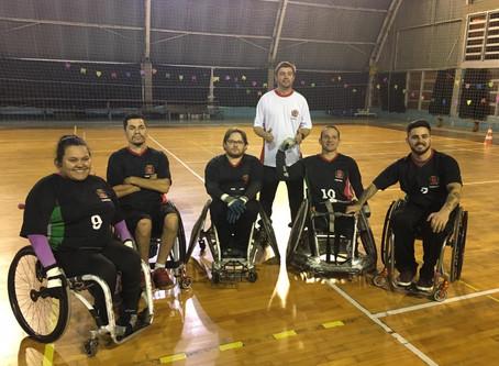 Rugby CR: Curitiba é o primeira campeã dos Jogos Abertos Paradesportivos