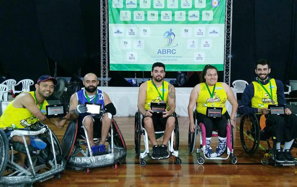 Premiados: Moisés Batista (artilheiro 139 gols), Alexandre Giuriato, da equipe Gigantes de Campinas (Melhor 3.0/3.5); Bruno Damaceno (Melhor 2.0/2.5); Tainá Santos (Melhor 1.0/1.5); e Gilson Wirzma Jr (Melhor 0.5)