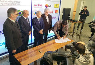 CPB assina termo para criação de plataforma de avaliação das entidades esportivas