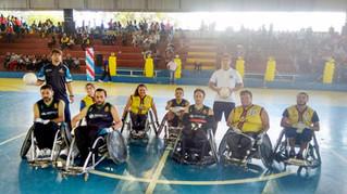 Em Campo Largo, Gladiadores e Locomotivas na abertura dos Jogos Escolares