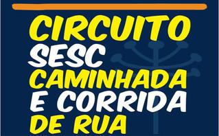 20 de agosto a etapa Curitiba do Circuito Sesc de Caminhada e Corrida de Rua