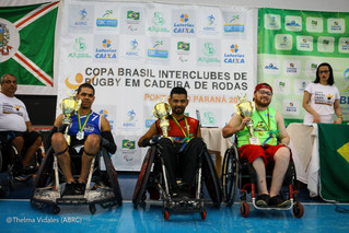 Gladiadores conquista 3º lugar na Copa Brasil Interclubes de Rugby em Cadeira de Rodas