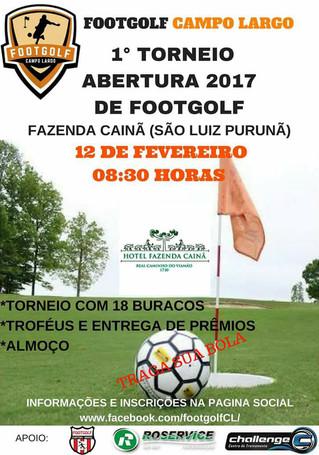 1° Torneio Início de Footgolf Campo Largo
