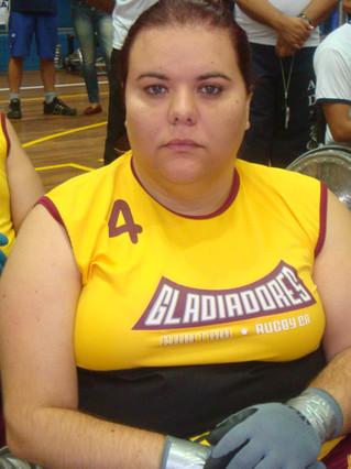 Priscila Campos, atleta da equipe Titans Quad Rugby, assume um importante cargo fora das quadras