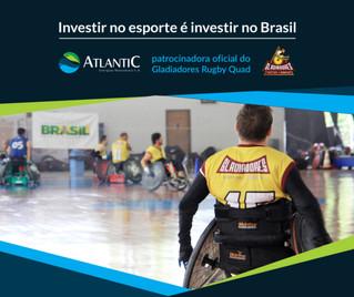 Atlantic Energias Renováveis incentiva o rugby em cadeira de rodas de Curitiba