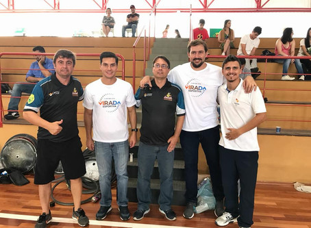 Virada Esportiva ajuda a disseminar o paradesporto entre os curitibanos